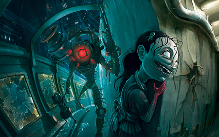 The Sisters from Bioshock 2
